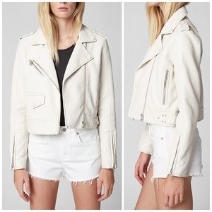NEW Blank NYC Never Too Much Leather Moto Jacket